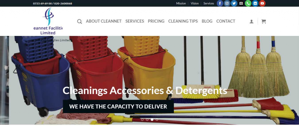 Cleanet Facilities