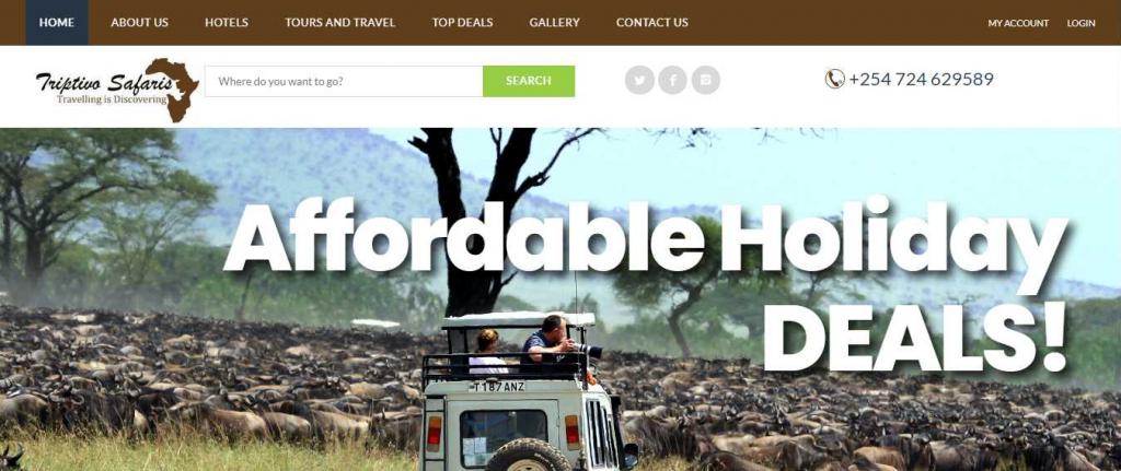 Triptivo Safaris